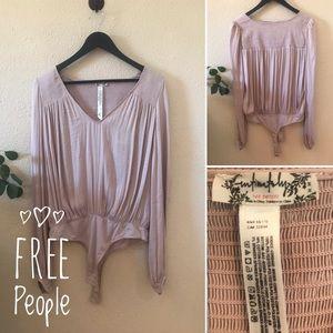 Blush Free People Bodysuit
